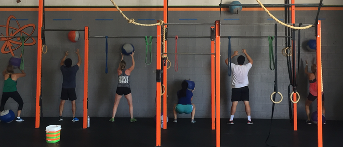 Medicine balls are another tool for CrossFit Monrovia.